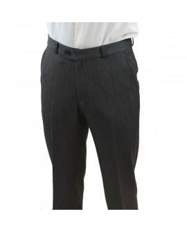 Pantalon de ville gris moyen Bruno St Hilaire