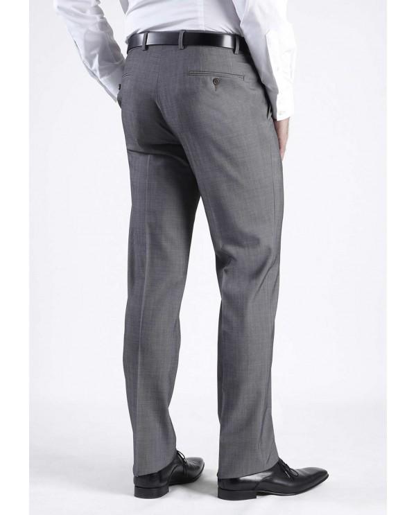 pantalon de costume antitache et stretch gris fonc bruno st hilaire liger homme. Black Bedroom Furniture Sets. Home Design Ideas