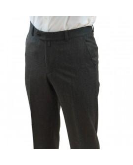 Pantalon Flanelle Gris Anthracite