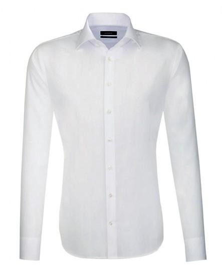 Chemise TAILORED blanche col français